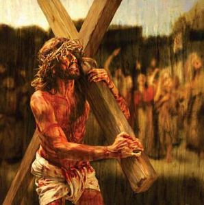 jesus carry cross